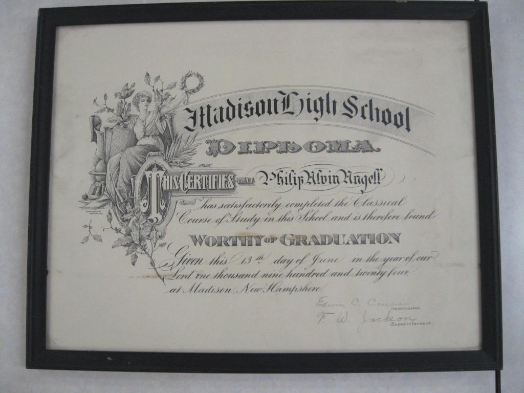 MHSDiploma1924